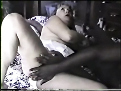 Curvy whore wife's ass stretched and pounded by BBC