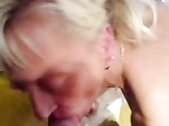 Mature tattooed slut fucked POV in all holes