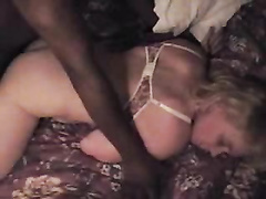 Cheating white milf sodomized by BBC and tasting cum